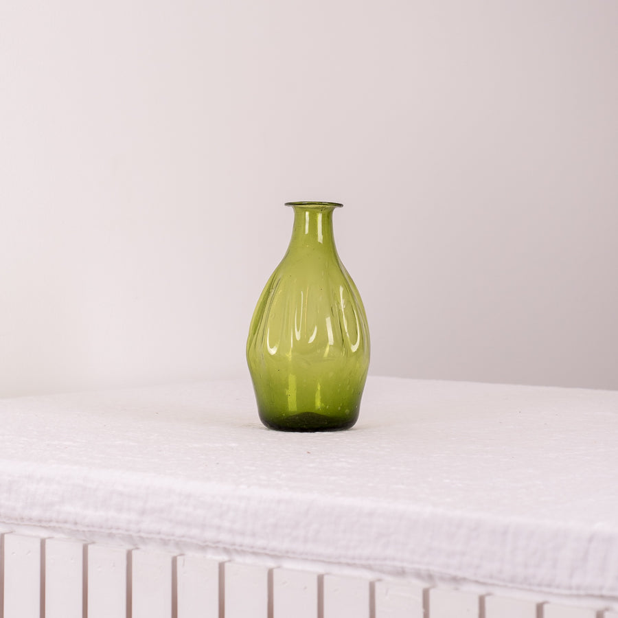 Recycled Glass Green Vase