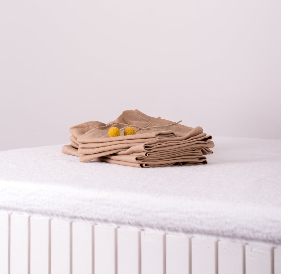 Almond Napkins - Pure Linen