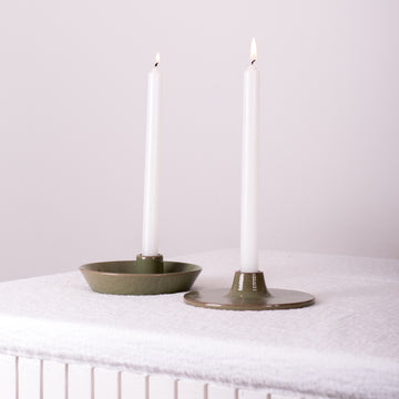 Porcelain Candlestick Holder