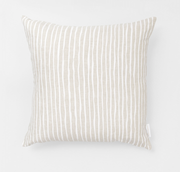 Linear Square Cushion
