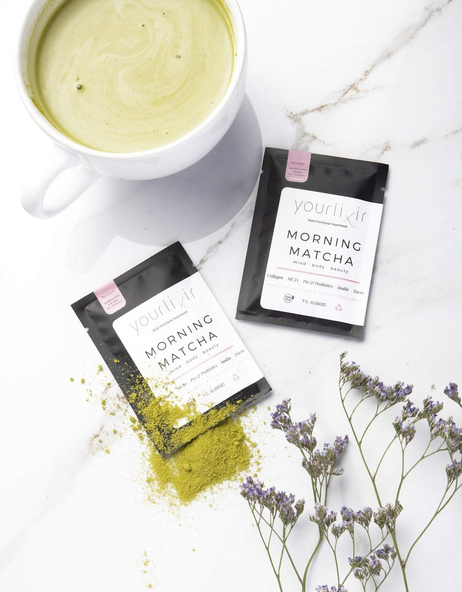Collagen & Probiotic Matcha Latte Sachets