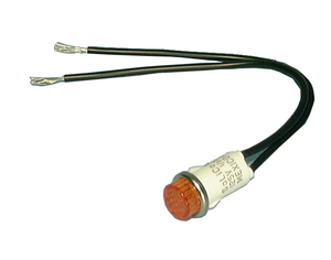 "12V Incd., .50"" Lamp-6"" Leads-Red/H, 11-2300"
