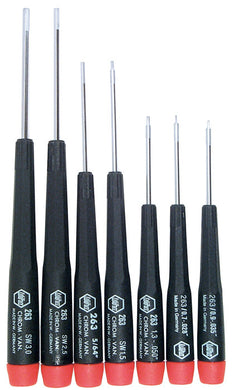 PRECISION 7PC HEX METRIC SET, 26390