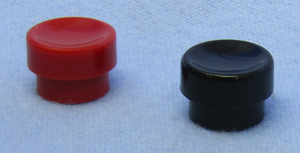 PUSH BUTTON SWITCH CAPS , 30-14436
