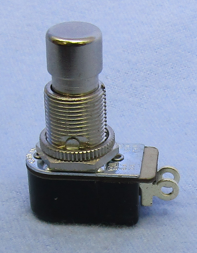 PUSH BUTTON SW  SPST ON-(OFF), 30-14451