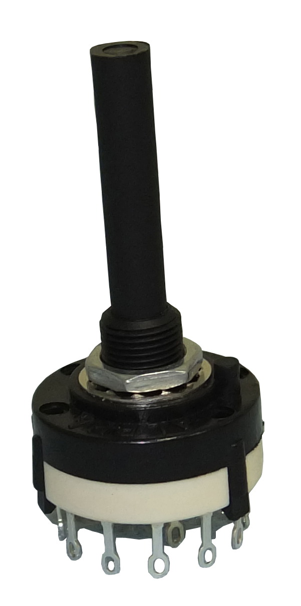 Rotary Switch, 4 Pole, 3 Position, Non Shorting, 30-15403