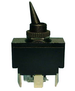 Toggle, DPDT Auto / Marine  20A @125V, On-Off-On, 30-158
