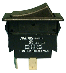 20A DPST ROCKER SWITCH, 30-630