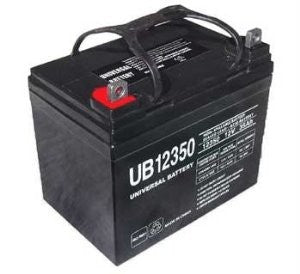 12V 35 AH Sealed Lead Acid Battery / Screw Post     , UB12350
