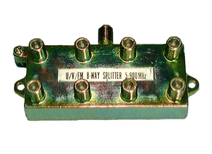 8-way Hybrid Splitter 900 MHz, 42-138