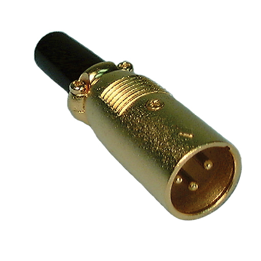 A3M AUDIO CONN GOLD, 45-692GB