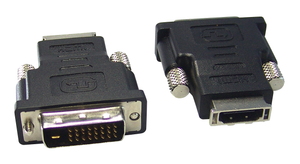 Adaptor HDMI-F to DVI-D Single Link/M, 45-7045