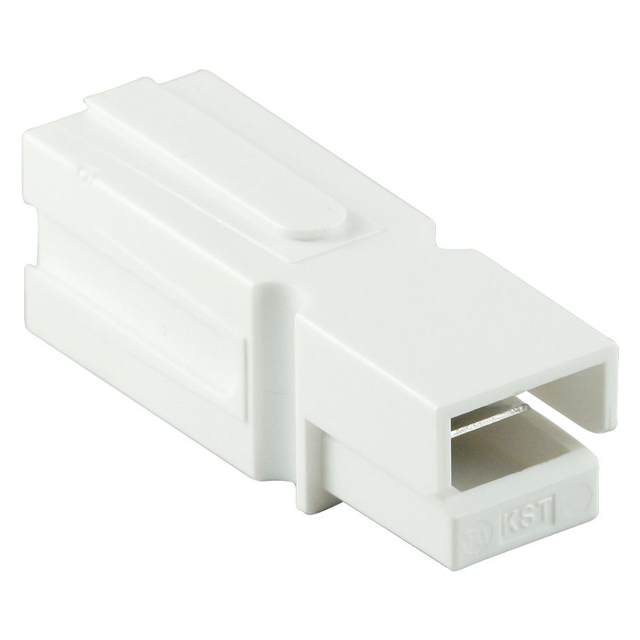 DC-H Power Connector-White, 49-019