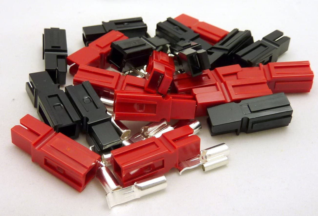 DC-S 10 Pair Sets-Black/Red-15A