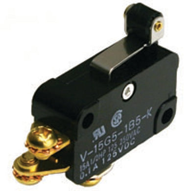 Snap Action Switch,  Short Hinge Roller Lever, 54-401
