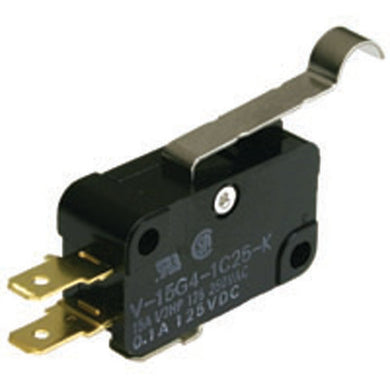 Snap Action Switch,  Simulated Roller Lever, 54-402
