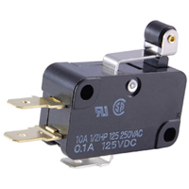 Snap Action Switch,  Short Hinge Roller Lever, 54-408