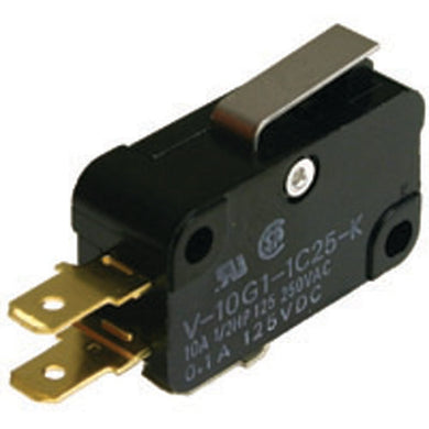 Snap Action Switch,  Short Hinge Lever, 54-421