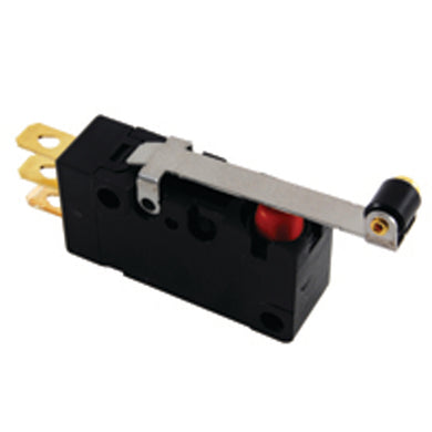Snap Action Switch, Sealed, Hinge Roller Lever, 54-488WT