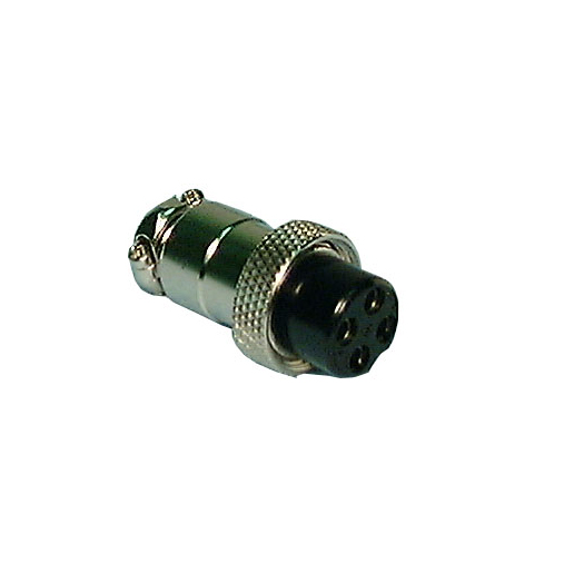 4 PIN INLINE FEMALE, 61-604