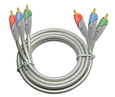 DVD Component cable-3 RCA M/M 3ft. , 71-2203