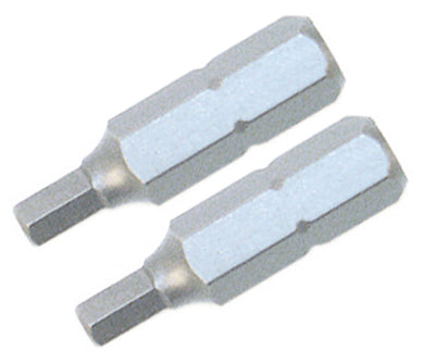 Hex Inch 1/4 X 25mm 2 Bit Pack, 71369