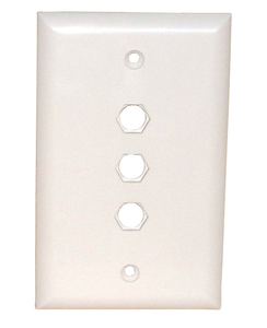Std. Wall Plate-3 Hole Quick Fit, 75-4113