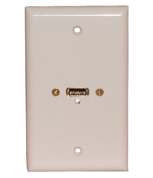 Wall Plate HDMI  White, 75-667