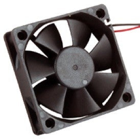 FAN 12VDC 60 X 60 X 15MM Wire Leads  4500RPM 18.62CFM 39DB  , 77-6015D12