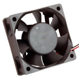 FAN 12VDC 60 X 60 X 20MM Wire Leads  4200RPM 22.43CFM 38DB  , 77-6020D12