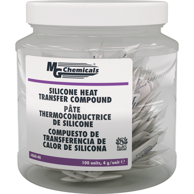 Silicone Heat Transfer Compound 4 grams , 860-4G