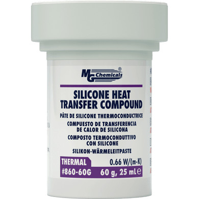 2.1 OZ TUB    SILICONE HEATSINK COMPOUND, 860-60G