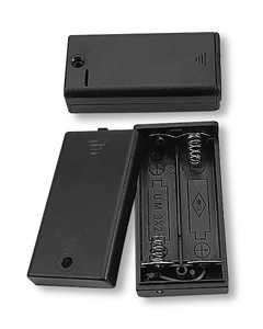 Battery Holder 2 X AA Cells  With Cover., BH320
