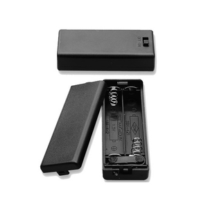 Battery Holder 2 X AAA Cells With Cover & Switch, BH4211