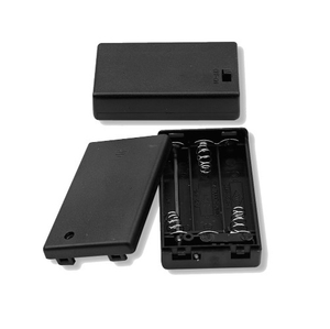 Battery Holder 3 X AAA Cells With Cover & Switch, BH4311