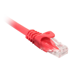Catagory 5e Patch Cord, Snagless, 25ft, red, NPC-1325