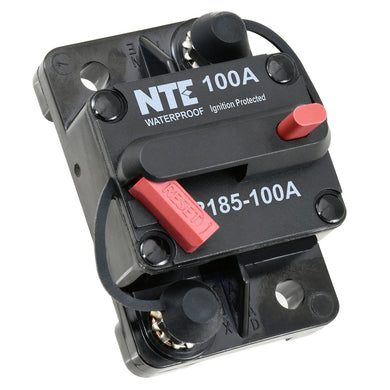 THERMAL CIRCUIT BREAKER HI-AMP SINGLE POLE 100A, R185-100A
