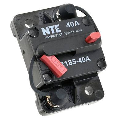 THERMAL CIRCUIT BREAKER HI-AMP SINGLE POLE 40A, R185-40A