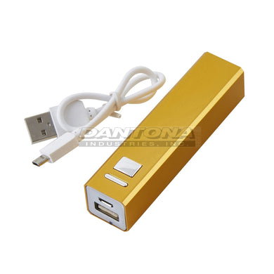 2600 maH  Power Bank-Gold, CEL-PB2600G