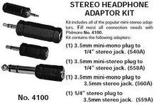 Load image into Gallery viewer, Stereo Headphone Adaptor Kit