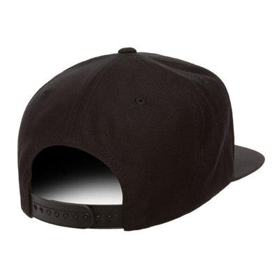 SQUIRLY SINCE BIRTH BLACK 6 PANEL HAT BACK