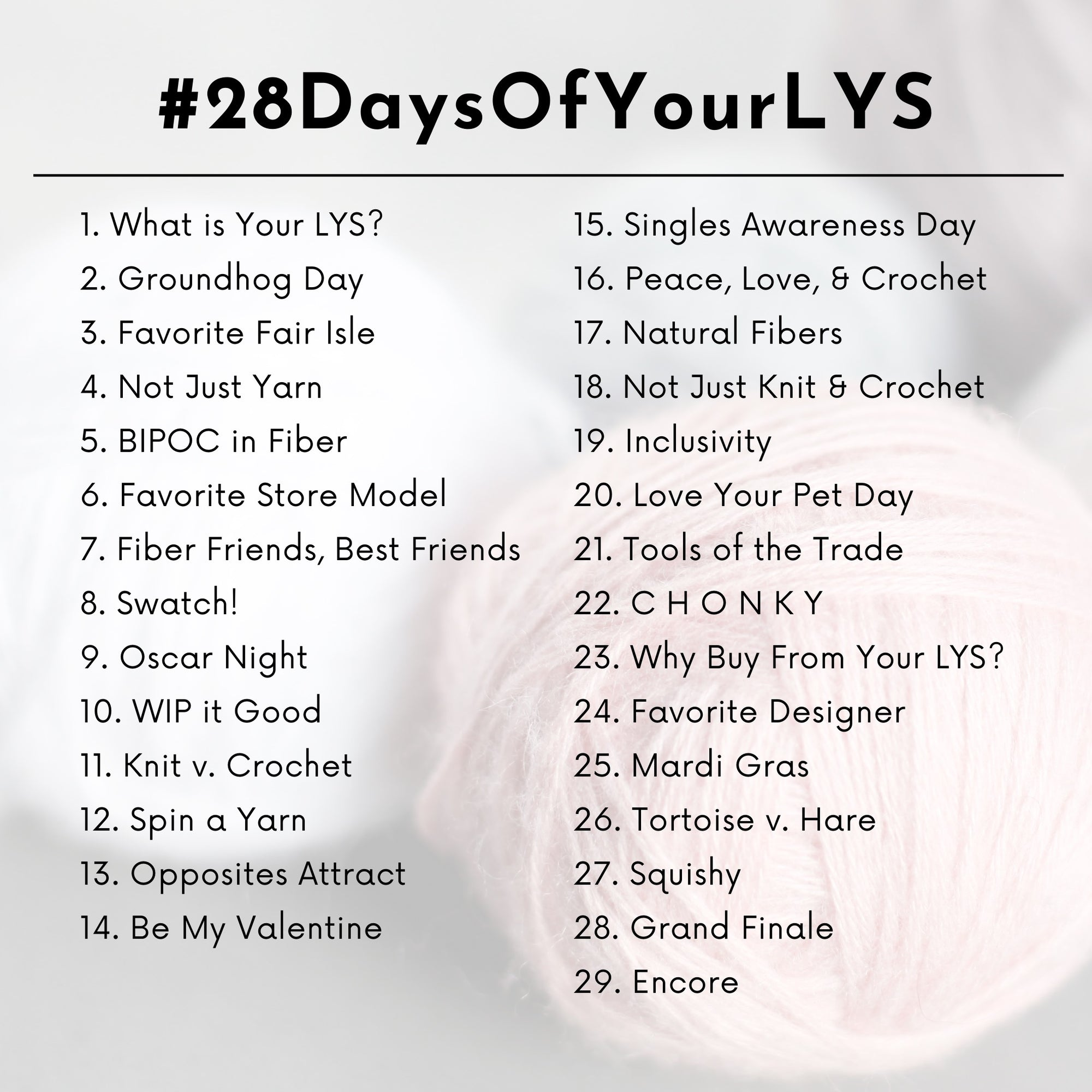 #28DAYSOFYOURLYS WRAP UP