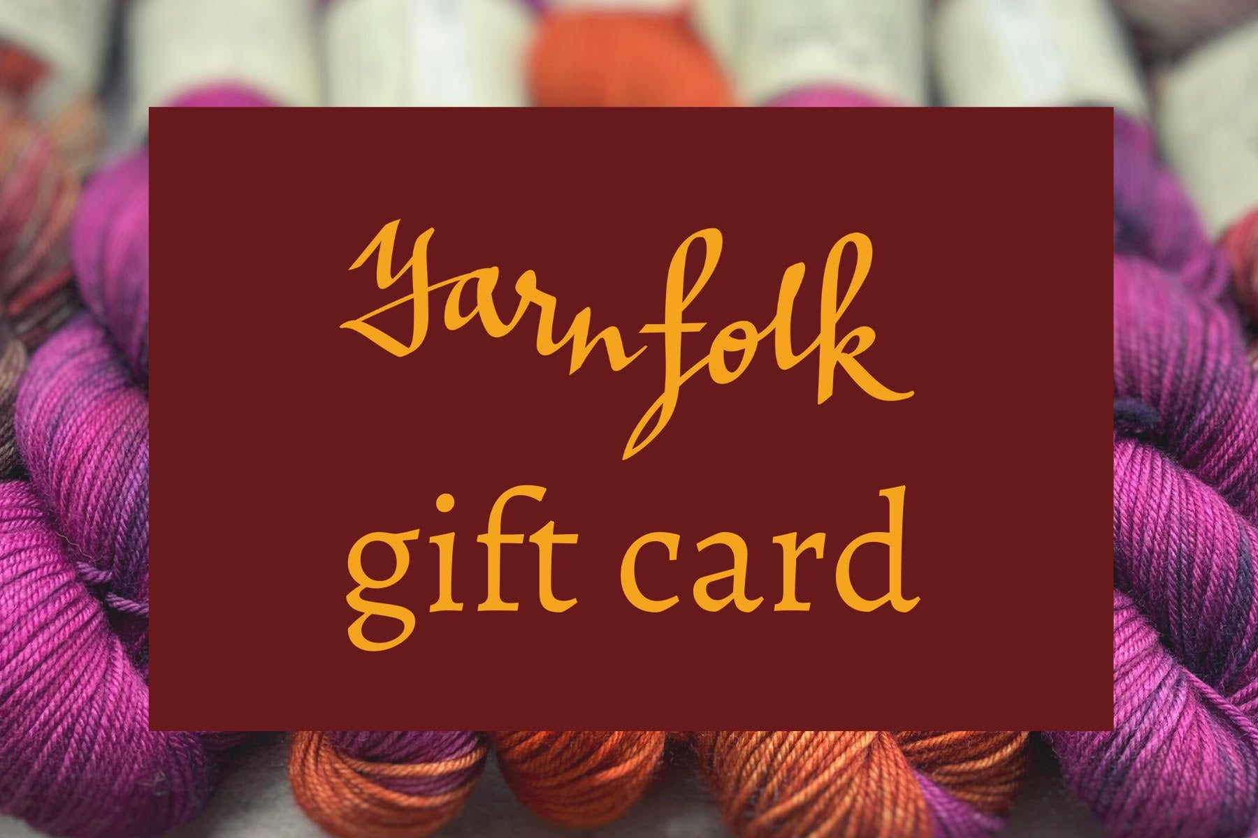 Yarn Folk Gift Card