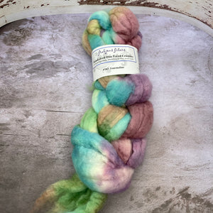 Frabjous Fibers Hand Dyed Spinning Fibers