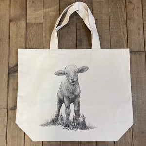 Eric & Christopher Canvas Totes