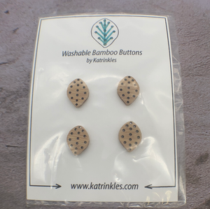 Katrinkles Bamboo Buttons