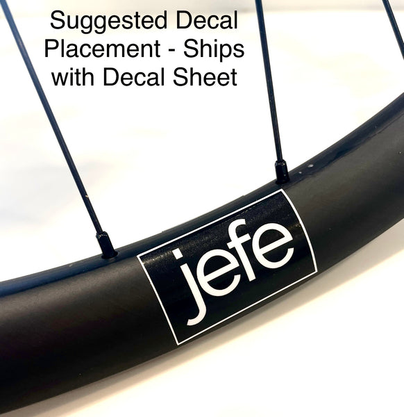 Jefe Velo Jayhawker™ 29er Carbon Fiber Gravel - CX - Bikepacking Wheelset (1-Standard Front / Rear Combinations)