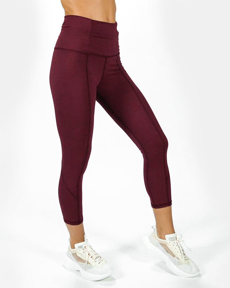 Drift Legging - Maroon