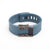 Blue Fitbit Charge with Bytten Matisse Cuff - antique steel