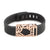 Fitbit Flex with Bytten Lucas slide - rose gold